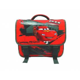 "Cartable garçon Cars 2 ""Zooom"" - 38 cm"