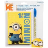 Les Minions Carnet deluxe avec stylo