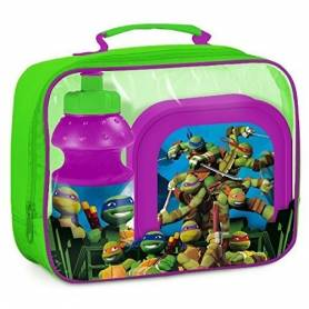 Tortues Ninja - Sac gouter - Lunch Box + gourde + sac isotherme