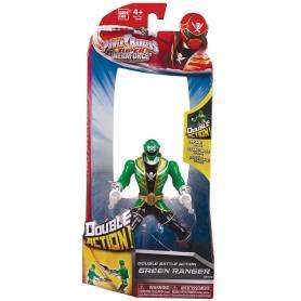 Power Rangers Vert - Figurine - Double Action - 16 cm