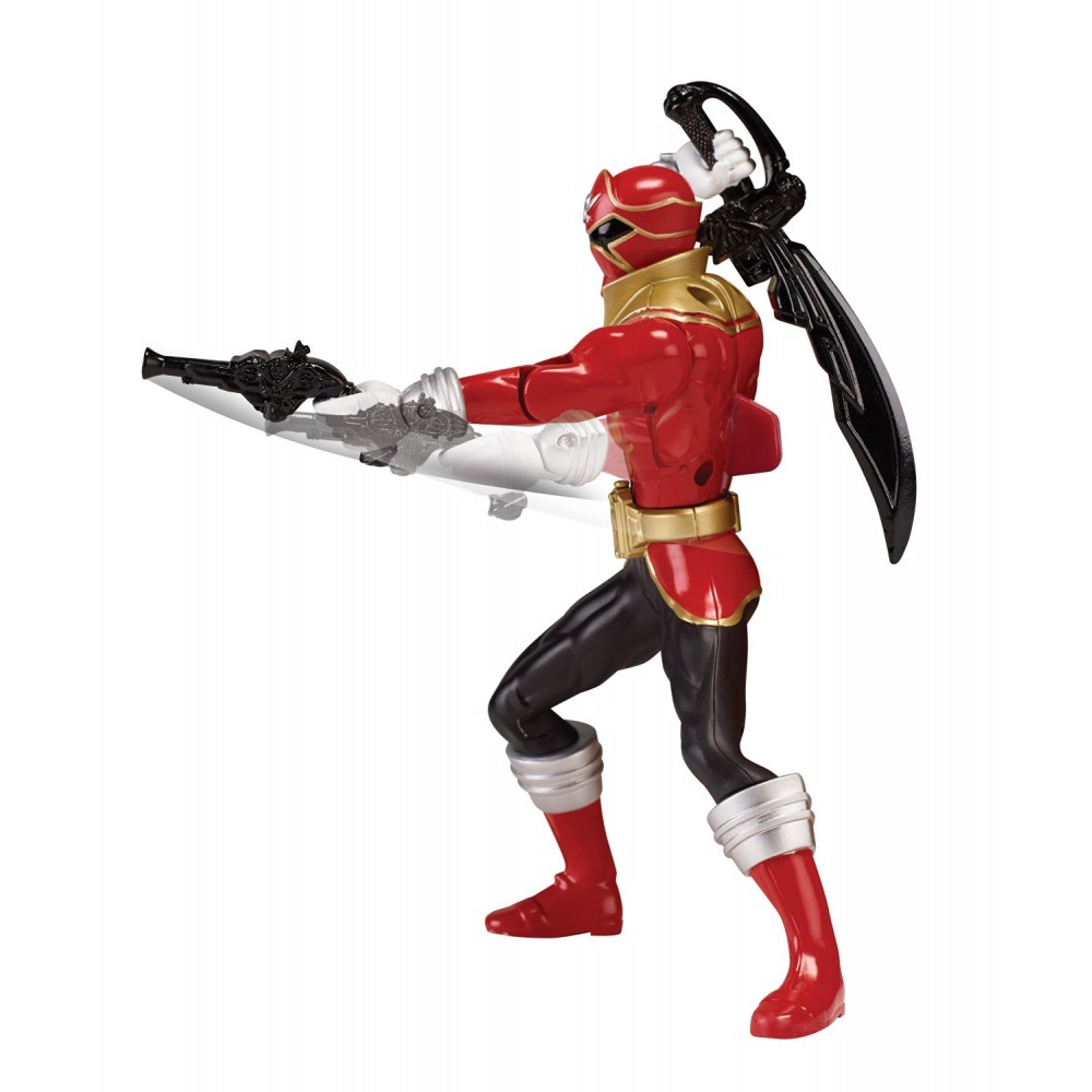 power rangers super megaforce figurine ranger rouge double action. Black Bedroom Furniture Sets. Home Design Ideas