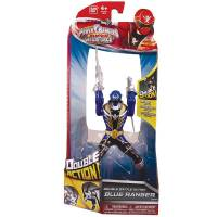 Power Rangers Super Megaforce - Figurine Ranger Bleu - Double Action - 16 cm