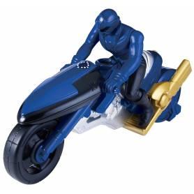 Moto Super Megaforce Power Rangers bleu