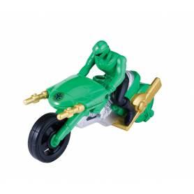 Moto Super Megaforce Figurine Power Rangers Vert