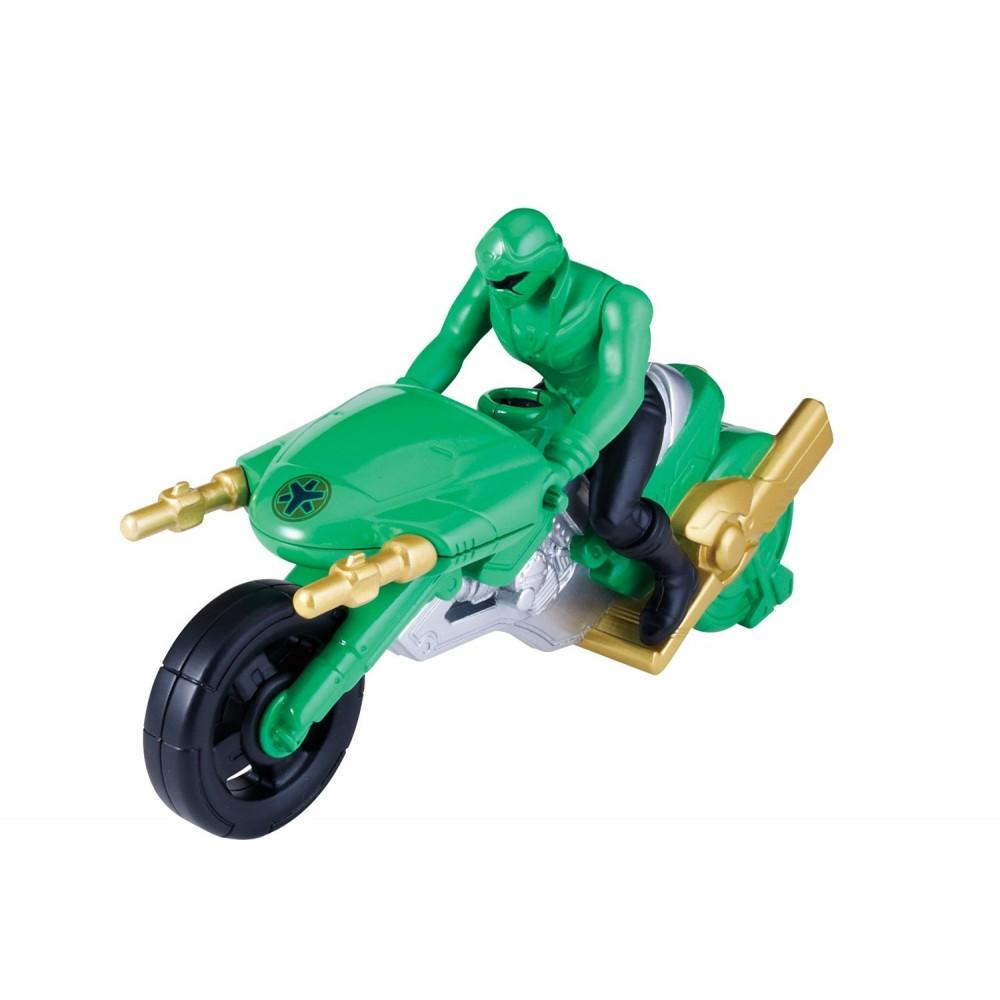 moto super megaforce figurine power rangers vert. Black Bedroom Furniture Sets. Home Design Ideas