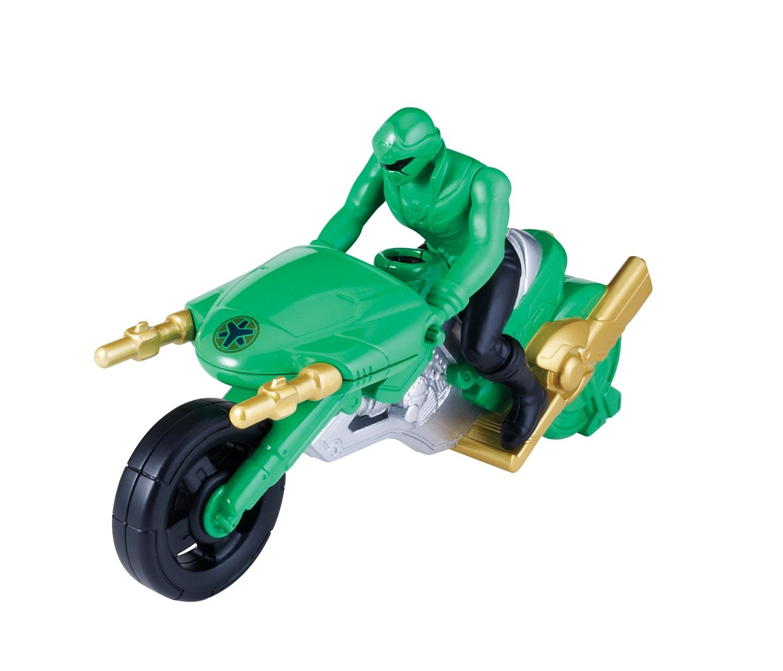 Moto super megaforce figurine power rangers vert - Moto power rangers megaforce ...