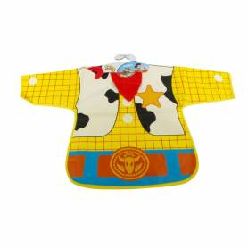 Bavoir à manche Toy Story Woody