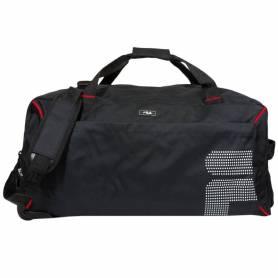 FILA Grand sac de sport à roulettes et poignée ajustable - 68 x40cm - Noir