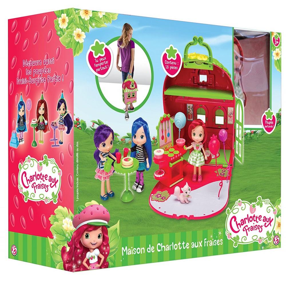 Charlotte aux fraises la maison de charlotte aux fraises - Jeux de charlotte aux fraises cuisine ...