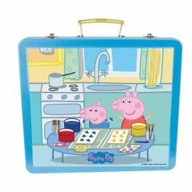 Peppa Pig - CPEP132 - Ma Boîte Métallique Créative - 60 Pièces