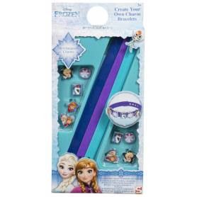 Frozen - Crea il tuo braccialetto - 3 braccialetti con 10 ciondoli