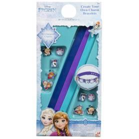 La Reine des neiges - Crée ton propre bracelet - 3 Bracelets avec 10 breloques