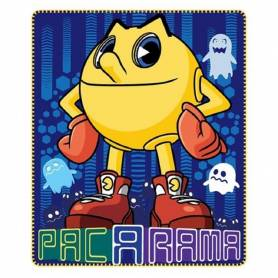 Plaid Couverture Polaire - Pac-Man - 120 x 140 cm