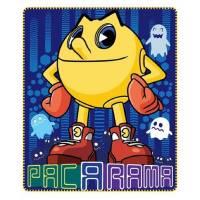 Pac Man - Plaid Couverture Polaire enfant - 120 x 140 cm