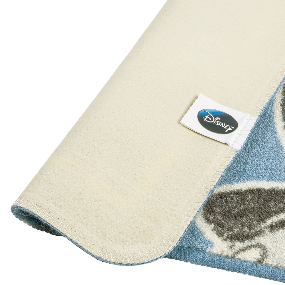 mickey mouse tapis de bain 50 x 85 cm bleu clair. Black Bedroom Furniture Sets. Home Design Ideas
