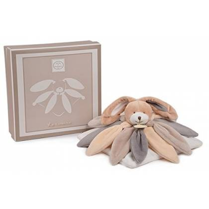 Doudou et Compagnie - Doudou Collector Lapin - Taupe