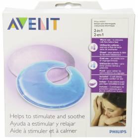 Philips Avent - Coussinet d'allaitement apaisant et raffermissant 2 en 1