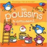 """Livre de Coloriage - """"Les poussins s'amusent"""""""