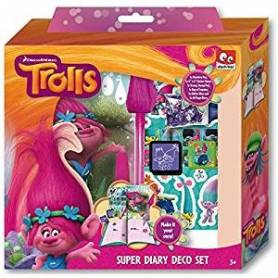 Trolls Poppy Dreamworks - Super Set Journal Intime