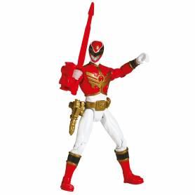Power Rangers - Figurine - MegaForce 10 cm - Rouge