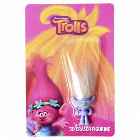 Figurine TROLLS Guy Diamond 3D Gomme
