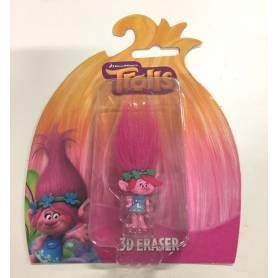Trolls Dreamworks - Figurine Poppy 3D Eraser
