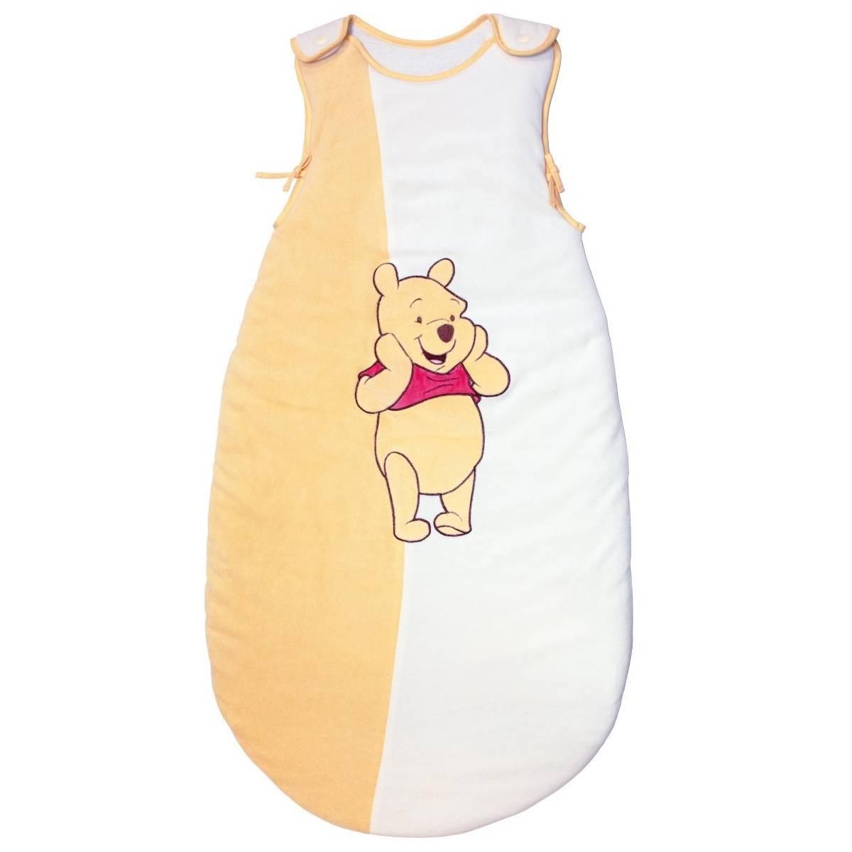 BabyCalin - Douillette Réglable Winnie - Jaune et Blanc - 6 - 36 mois
