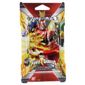 Power Rangers - Paquet de 10 Cartes DX Scanner