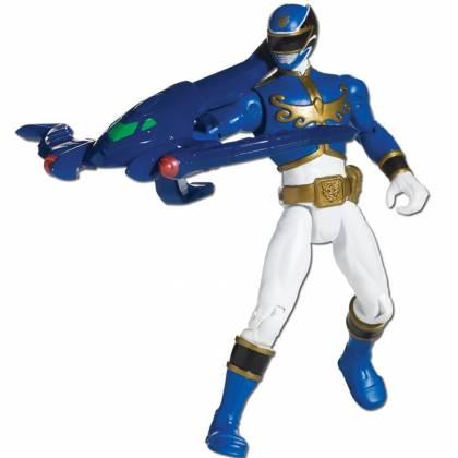 Power Rangers - Figurine Megaforce 10 cm - Bleu