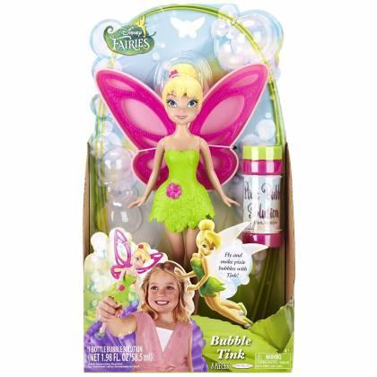 Disney Fairies - Poupée Fée Clochette à Bulles