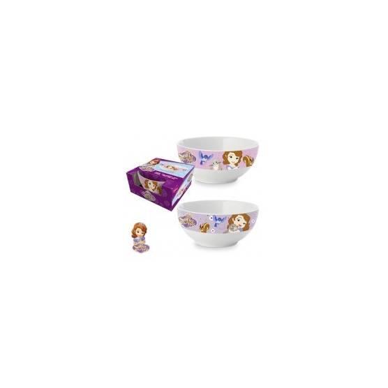 Disney - Princesse Sofia - Bol à céréales - Mauve