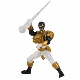 Power Rangers - Figurine - MegaForce 10 cm - Ranger Noir Ultra Mode