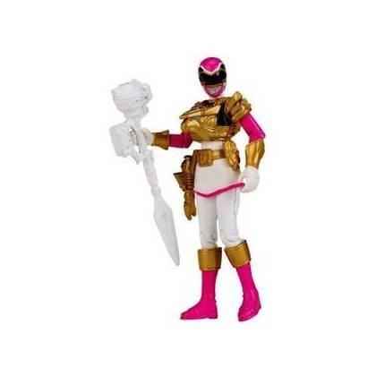 Power Rangers - Figurine - Megaforce 10 cm - Ranger Rose Ultra Mode