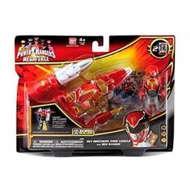 Power Rangers - Megaforce - Véhicule Zord - Ranger Rouge Ultra Mode