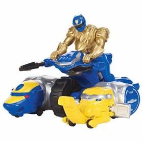 Power Rangers - Megaforce - Véhicule Zord - Ranger Bleu Ultra Mode
