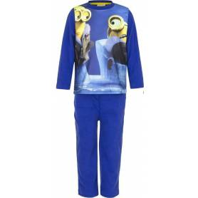 "Minions - Pyjama garçon polaire ""Navy"" - 3 au 8 ans"