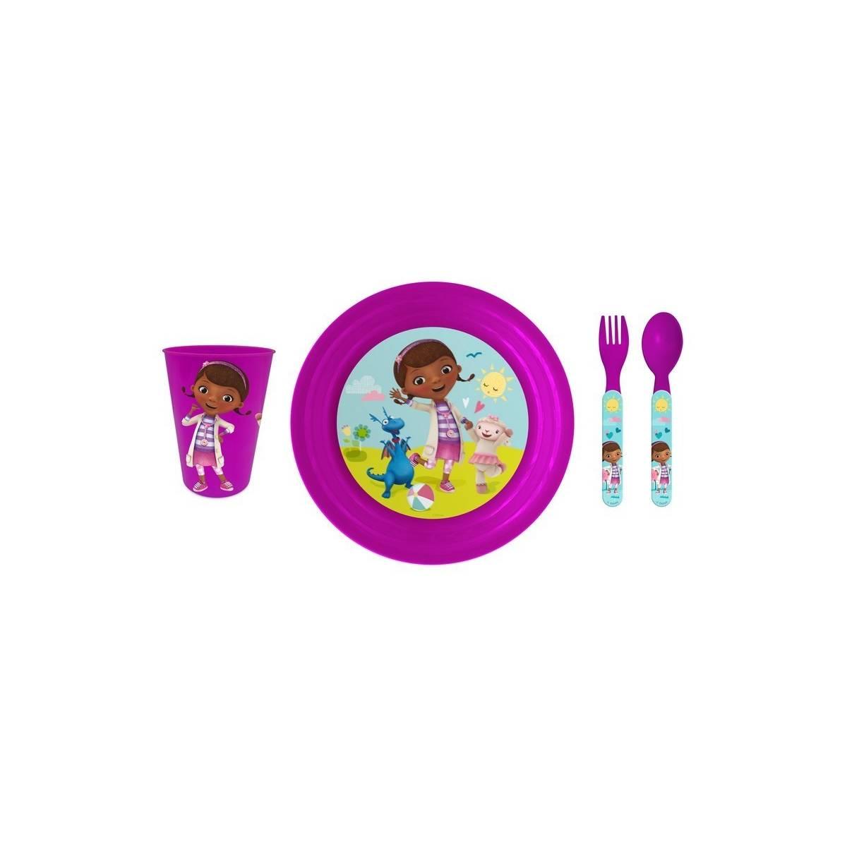 Docteur La Peluche - Set déjeuner 4 piéces - Cadeaux