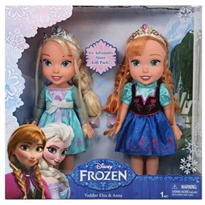 La reine des neiges - Coffret Poupée Elsa Et Anna 33cm