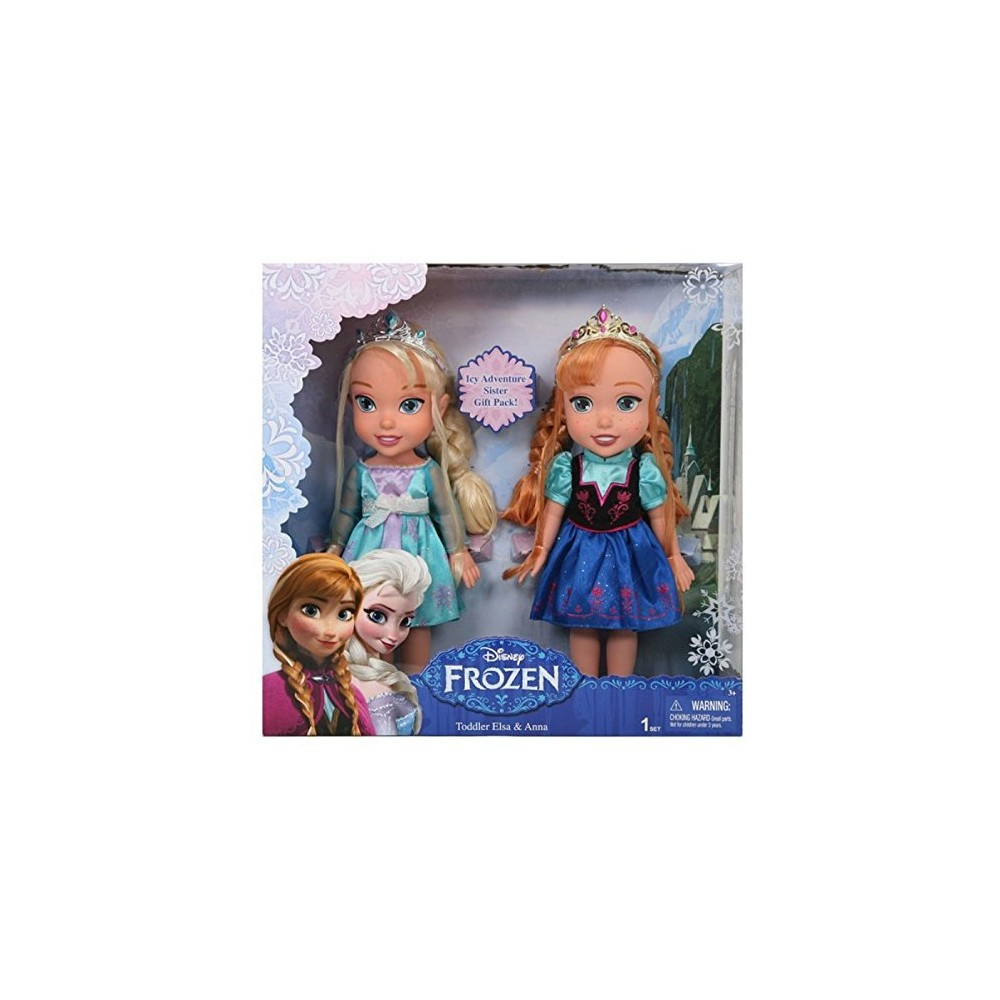 la reine des neiges nouveau coffret poup e elsa et anna 33cm. Black Bedroom Furniture Sets. Home Design Ideas