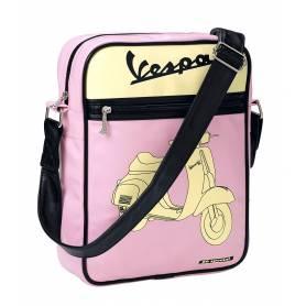 Vespa Sacoche Besace Piaggio rose - 50 special