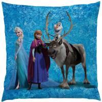 La reine des neiges - Coussin Disney Frozen Team 40 X 40 cm