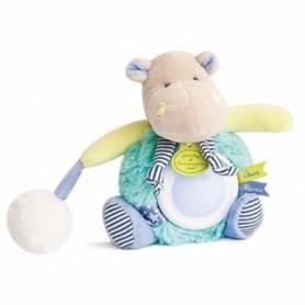 Doudou et Compagnie - Lovely Veilleuse Pistache Hippopotame - DC3053