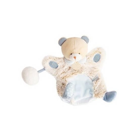 Doudou et Compagnie - Lovely Marionnette Pistache Ours