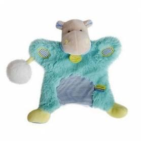 Doudou et Compagnie - Lovely Marionnette Pistache Hippopotame