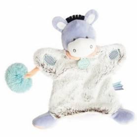 Doudou et Compagnie - Lovely Marionnette Pistache Ane