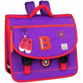 "Bensimon - Cartable ""Patch"" - Violet"