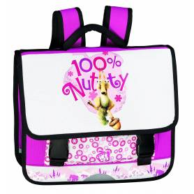 "L'âge de Glace - Cartable - ""100% Nutty"" - Rose"