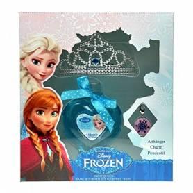 La Reine des neiges - Coffret gel douche- tiare - pendentif