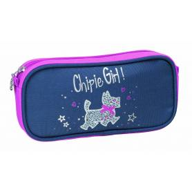 "CHIPIE - Trousse Rectangulaire "" Love & Style "" - 1 compartiment"