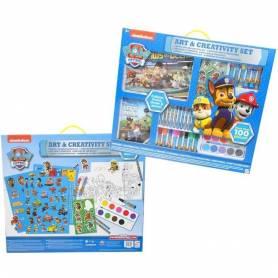 """<span translate=""""no"""">La Pat'Patrouille</span> - Enorme set di giochi per colorare, arte e creatività -100 pezzi"""